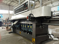 straight line glass edge processing machine for edge polishing and angel cutting