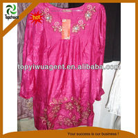 Pink color islamic abaya for Women