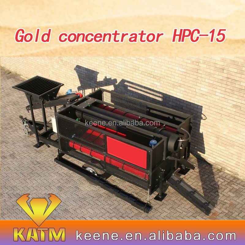 2016 HOT SALES MODEL IN SUDAN Gold Separation Machine