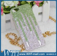 OEM High Grade Bling Bling Back Cover Case for iPhone 5S,for iPhone 5S Rhinestone Case