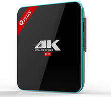 Cheapest Q plus S912 android 7.1 Octa Core TV Box UHD 4K H.265 Miracast Airplay 2.4G 5G WiFi BT 4.0