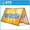 cheap advertising pop up banner a frame ,outdoor promotion banner