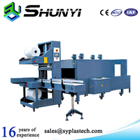 Best quality custom-made low price plastic carry bottle wrapping machine