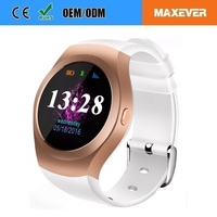 Silver 240*240 Pixel Resolution GSM/GPRS 850/900/1800/1900 Phone Network Latest Wrist Watch Mobile Phone