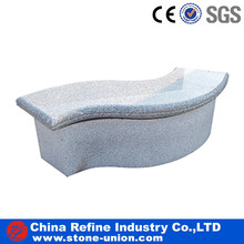 Grey polished wave benches wholesale