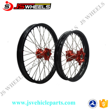 12/14/17 Inch Kids Mini Pit Bike CNC Alloy spoked wheels with Colored hubs