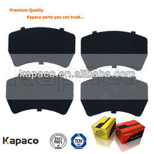 Auto brake spare parts of brake pad metal shim buckled on car brake pad (OE:5066427AA)