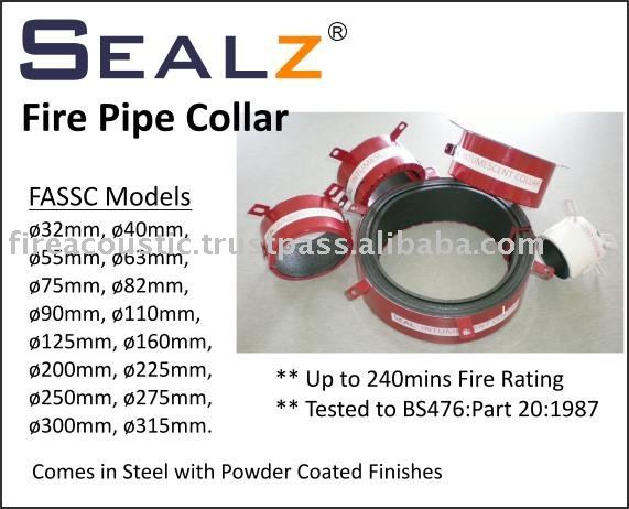SEALZ Fire Rated Pipe Collar