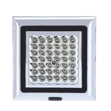 12V 42 LED Car Vehicle Indoor Roof Ceiling Lamp Interior Decorative Dome Light Square White