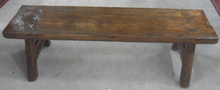 Antique wood bench LWD536