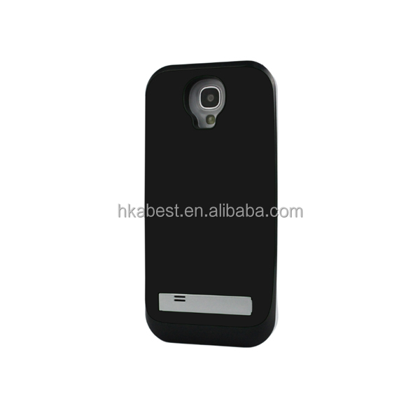 For s4 cell phone recharging case, battery Case for samsung galaxy s4,Rechargeable 3500mAh battery case for sam s4/ i9500