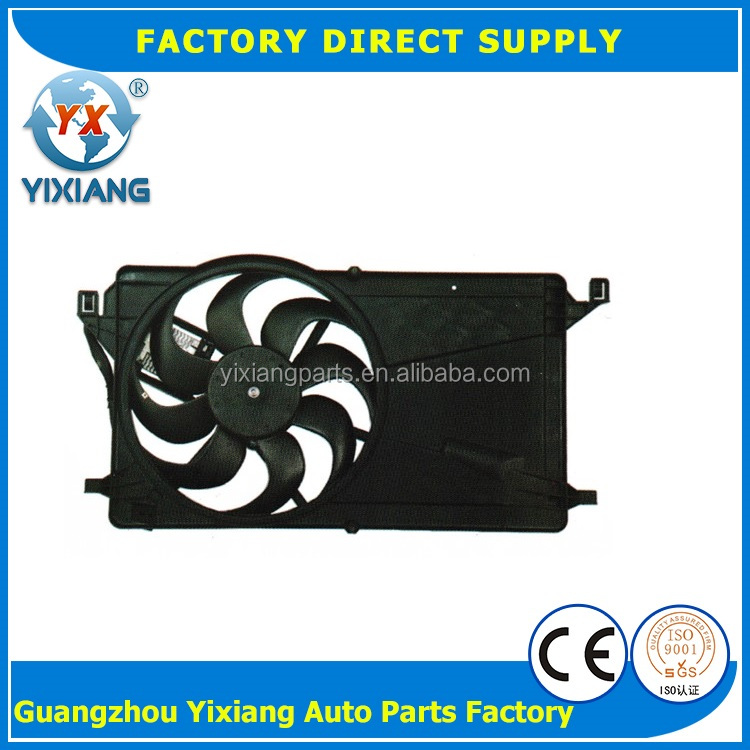 Car air conditioning parts condensing condenser fan for Mazda M3