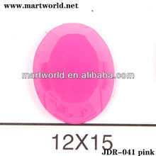 Oval facted crystal 888 stones (JDR-041)