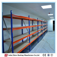 Medium duty warehouse rack dexion adjustable and galvanized steel bin shelves
