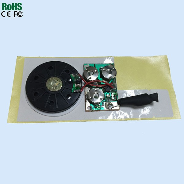 Audio Recordable Chip And Playback Chip Circuits For Cards And Toys