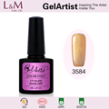 GuangZhou Factory Wholesale Hot Gorgeous GelArtist Brand Color Gel Nail Polish