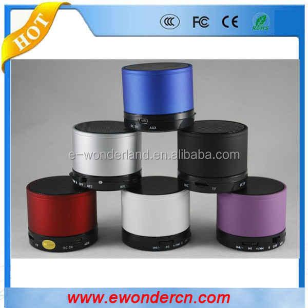 Wholesales Mini portable Bluetooth Speaker with TF card and FM