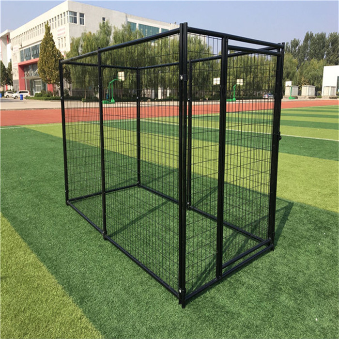 2015 hot sale various low price useful customizable galvanized safe outdoor dog cages/dog kennels