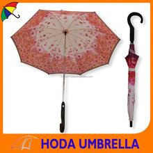 new design auto open and close straight umbrella