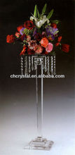 crystal centerpieces for wedding table,flower stand for wedding