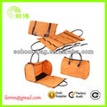 Drop shipping top grade leather travel bags