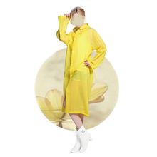 Waterproof EVA polyester Rain Coat/Raincoat Poncho with Cheap Price
