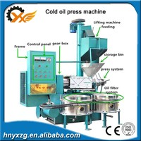 Yuxiang machinery Small Mesh density flax seed cold oil press machine