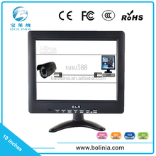10 inch portable cctv monitor test in good working condition