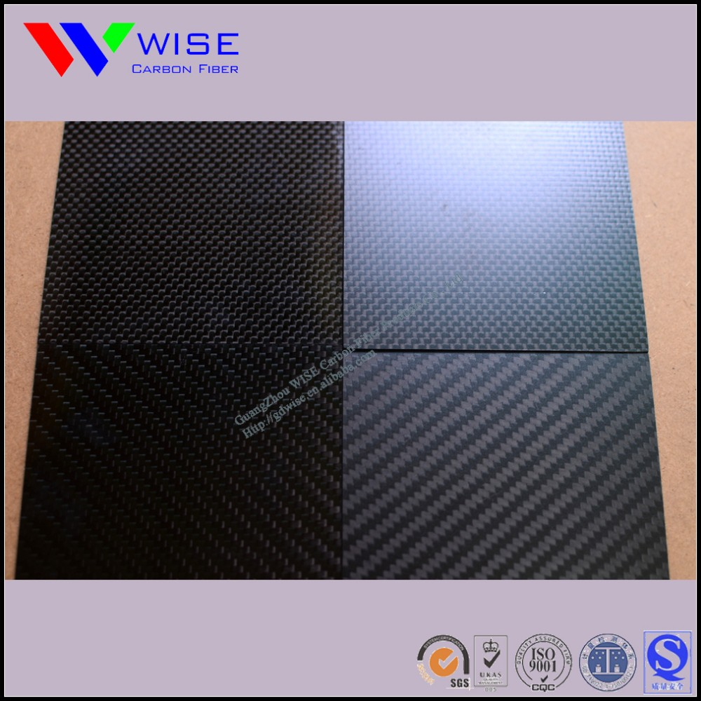 ROHS SGS certificate High quality low price carbon fiber laminate sheet plate boards panel