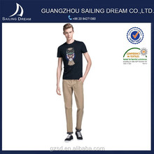 Wholesale custom eagle men clothing oem service fashion t shirt wholesale china with bead