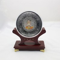 wholesale metal military souvenir plate metal art plate