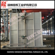 All fiber 800 KW bell type electrical resistance furnace with parts normalizing