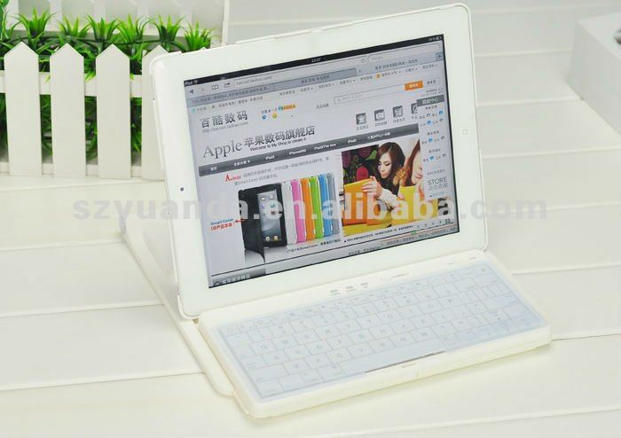 Rotatable Wireless Keyboard Case for iPad2/ new iPad