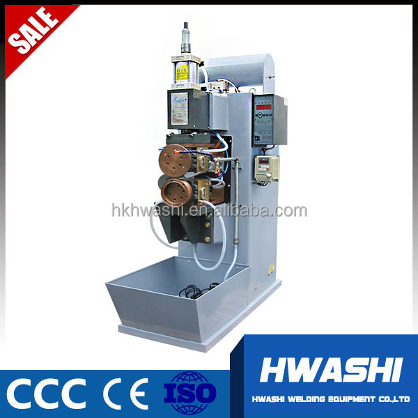 fast longitudinal seam welding machine used