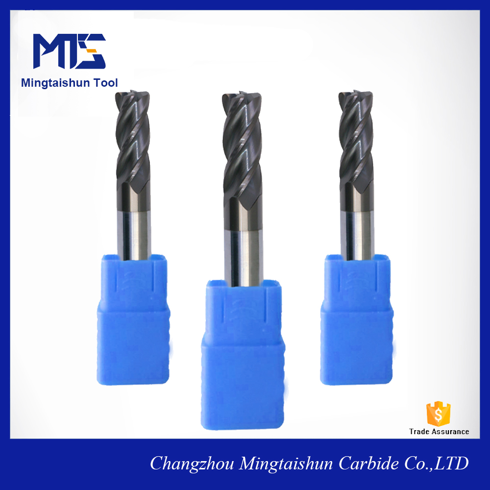micro grain carbide end mill cutter