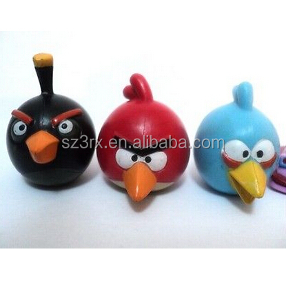 custom made birds Collectible Figurine Pencil Topper Miniature Toy