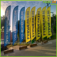 advertising display customized banner flags outdoorflying banner stand