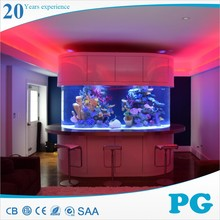 PG Made In Shanghai Custom Fish Tank Acrylic Resun Aquarium