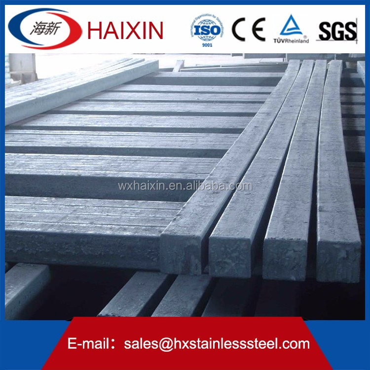 304 Top Quality 2m-6m Stainless Steel Square Bar/Rods sizes