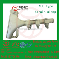 NLL-4 type of aluminum strain relief clamp/Overhead Power Line Cable Accessory/NLL Type Tension Clamp