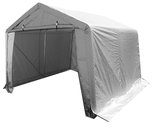 W 1.6 x <strong>L</strong> 2.4 x H1.6m PE Fabric <strong>Motorcycle</strong> Garage Shelter