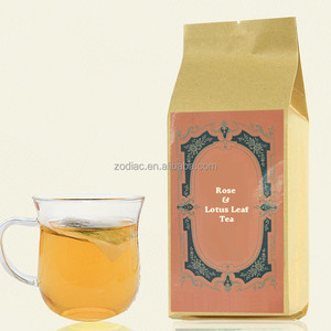 Lotus Leaf Jasmine Bud Rose Bud Flower Mixed Herbal Teabag GMP Factory Manufactured