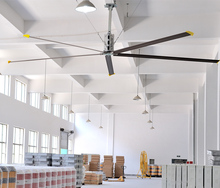 6.1m Air cooling hvls large industrial factory ceiling fan