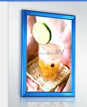 China led picture aluminum frame moulding advertising backlit wholesale poster frame