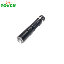 tini pen lights led xpe zoomable professional pocket torch rechargeable bright emergency clip hand torches