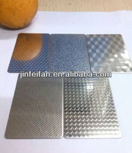 colored embossed stainless steel punched metal sheet