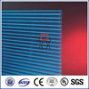 Zhejiang Makrolon double wall pc hollow sheet/twin wall polycarbonate sunlight sheet