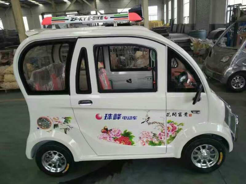 Pretty travel sightseeing electric Passenger car minibus