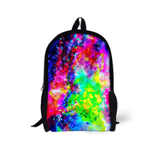 Beauty Products Paint Sky Teenagers Birthday Gift Backpack HSI Mochila School bags