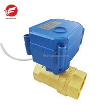"CWX-15Q mini automatic ball valve brass BSP 3/4"" 20mm 12V,24V,220V BSP solenoid ball valve for drinking water,water treatment"